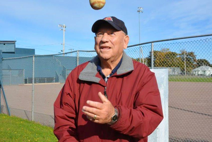 """Colin """"Coke"""" Grady was inducted into the Legends Field honour roll in Summerside in 2015."""