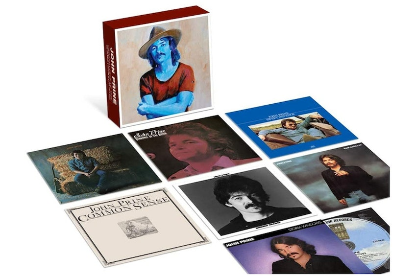 Grammy Award-winning singer-songwriter John Prine's first seven records have now been packaged together in a new boxed set entitled John Prine - Crooked Piece of Time: The Atlantic & Asylum Albums.