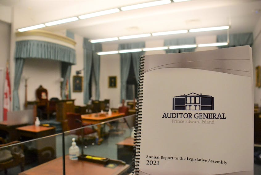 The Province's 2021 Auditor General's report was tabled in the legislature on Tuesday.