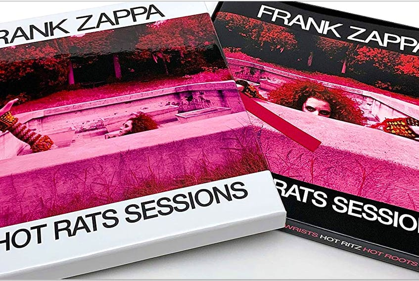 Frank Zappa's genius is on full display on a 50th anniversary boxed set commemorating his first solo album Hot Rats. The Hot Rats Sessions includes a photo booklet with many never-before- seen photos from those sessions and a board game. Photo submitted