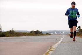 Isaac Mazer has been training for weeks for the P.E.I. Marathon and will run the course on Sunday despite the annual event being cancelled this year due to the coronavirus (COVID-19 strain) pandemic.