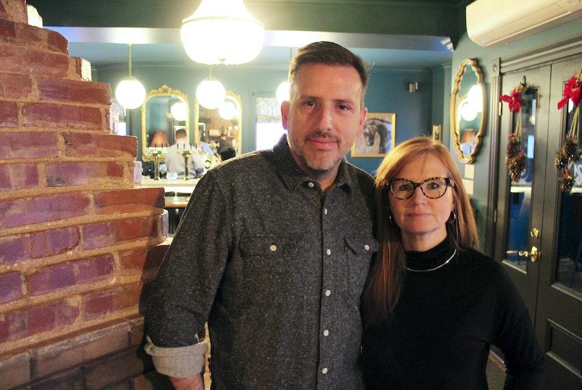 Steve Murphy and Christine McQuaid opened their new Charlottetown restaurant, Slaymaker & Nichols Gastro House, on Nov. 22. Daniel Brown/The Guardian