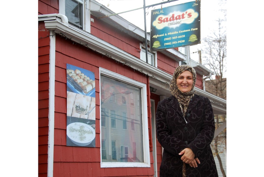 Sara Sadat, the owner and operator of Sadat's Cuisine in Charlottetown, says she does not want pity or handouts after a costly scam has put her restaurant in jeopardy. She simply wants to work hard to fill the restaurant with customers that come to enjoy her Afghani and Middle Eastern fare.