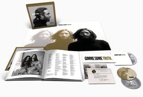 To mark what would have been John Lennon's 80th birthday, more than 30 classic tracks from his solo recordings have been brought together and completely remixed for Gimme Some Truth: The Ultimate Mixes.