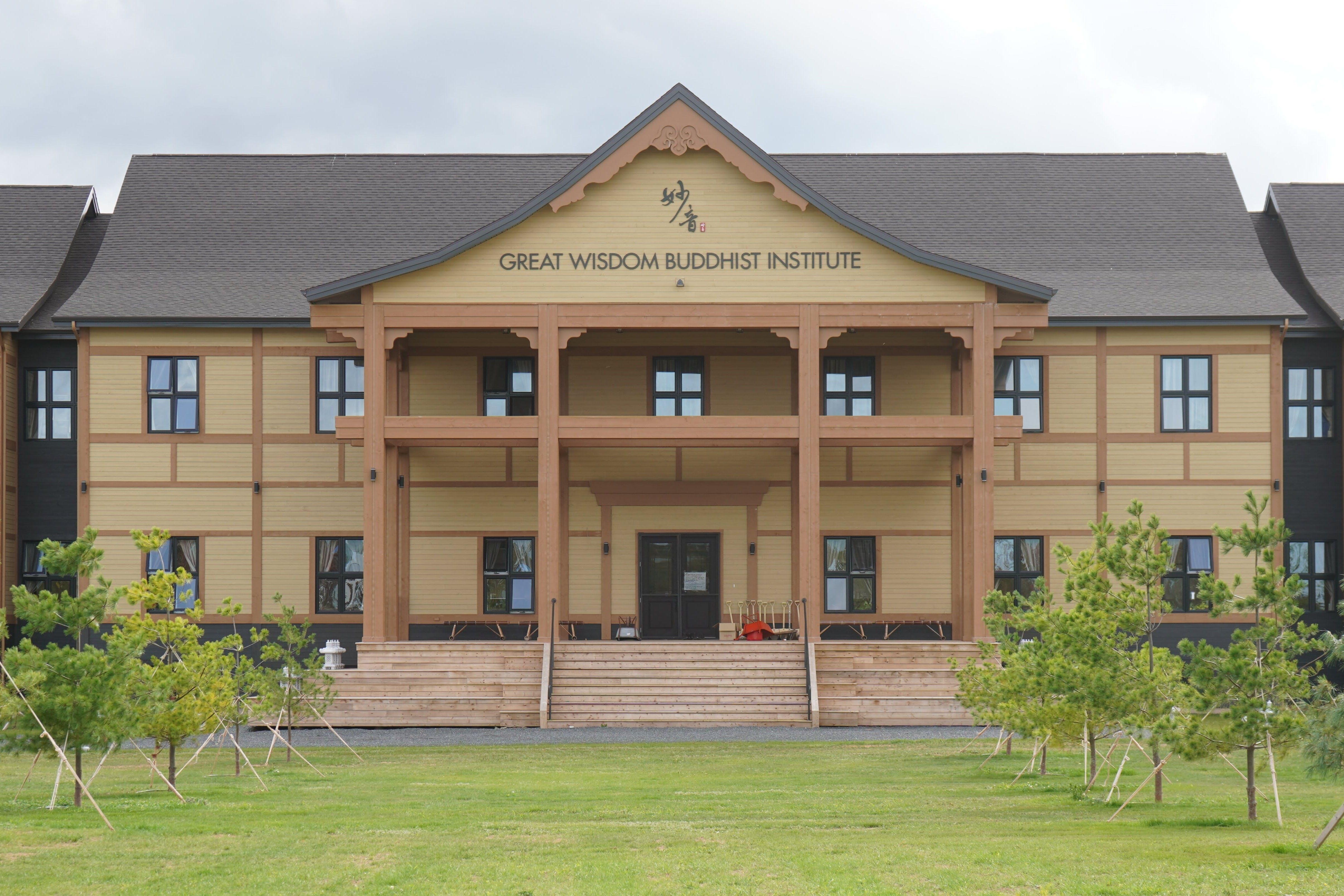 The Great Wisdom Buddhist Institute in Brudenell.