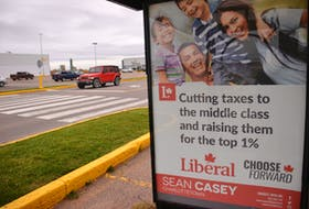 """An election ad touting a Liberal promise to tax the """"one per cent."""" In the 2019 campaign, many parties have floated tax policies aimed at addressing inequality and clamping down on economic elites."""