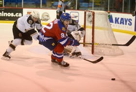 Jacob Hudson, a 20-year-old centre from Antigonish, N.S., is in his fourth full season playing for the Quebec Major Junior Hockey League's Moncton Wildcats.