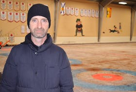 Tyler Harris, president of the Charlottetown Curling Club, says the process to sell the building is underway after a meeting of the membership and board of directors on Thursday night.
