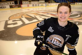 Thomas Casey is in his fourth and final season of junior hockey with hometown team, the Charlottetown Islanders.