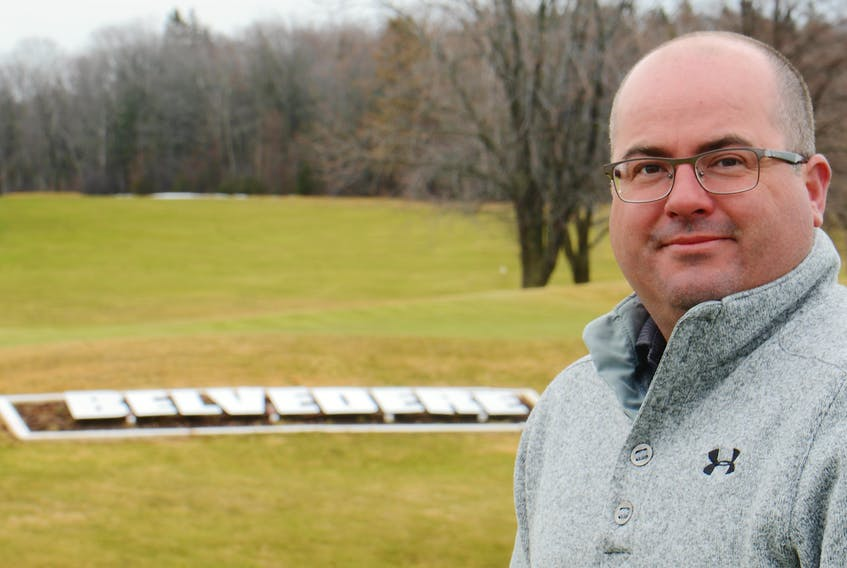 Jeff Affleck is the general manager of the Belvedere Golf Club in Charlottetown.