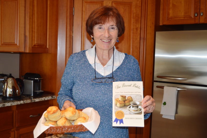Delores Griffin of Cornwall has just published her second book, The Biscuit Bible, which contains information on all things biscuit — types, tips, tested recipes and tales.