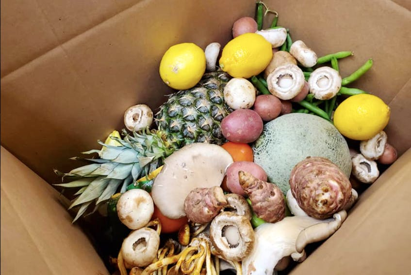 The Culinary Institute of Canada filled boxes with 1,500 pounds of fresh produce that was still on hand when classes abruptly ended due to the coronavirus (COVID-19 strain) outbreak. The institute then donated the boxes to Holland College students who are still living in residence.