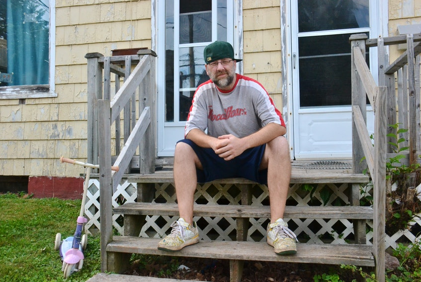 Jeff Gallant is due to be evicted Saturday from his apartment, and has yet to find another place to live. He is one among many Charlottetown residents to be hit by the housing crisis over the last few years.