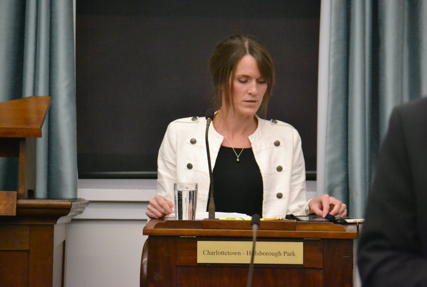 Natalie Jameson, P.E.I.'s Minister responsible for the Status of Women, took criticism from Green MLA Hannah Bell for her role in moving women's initiatives forward in government. Jameson said Bell's comments and online posts veered into overtly personal territory.
