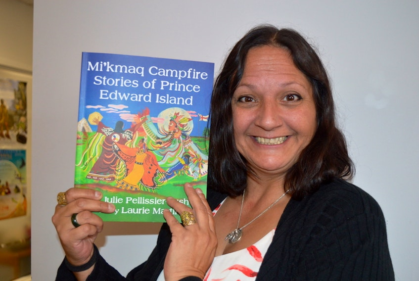 Lennox Island band member Julie Pellissier-Lush has published her second book, Mi'kmaq Campfire Stories of Prince Edward Island.