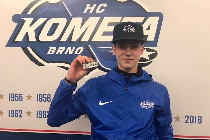 Czech centre Jakub Brabenec was the Charlottetown Islanders' top pick in the Canadian Hockey League import draft.