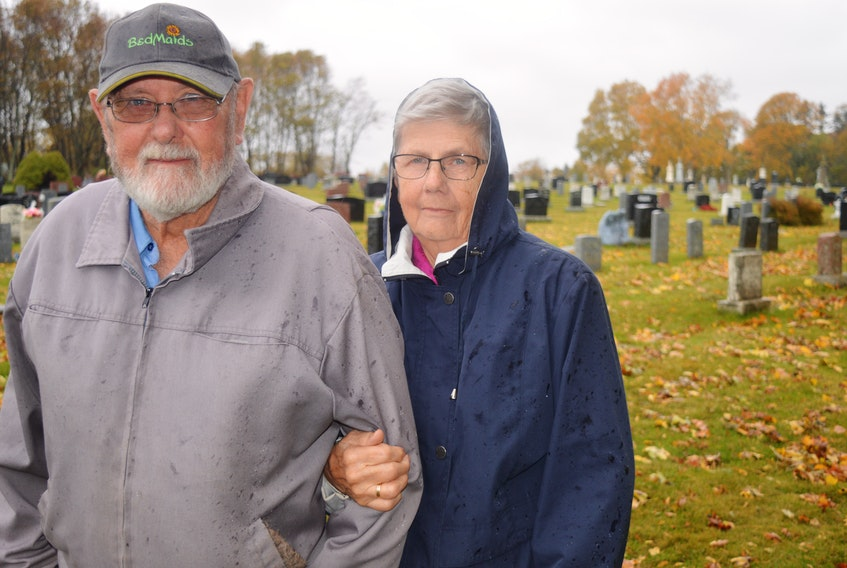 Art Lockhart and his wife, Miriam, have been documenting gravestones in cemeteries since 2009, but a visit to a Lennox Island cemetery in 2011 is one they'll never forget.