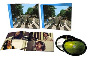 The cover of Abbey Road is one of the most recognized and most reproduced musical images of all time. Every year visitors to London try to recreate the image of John, Paul, George and Ringo crossing Abbey Road.