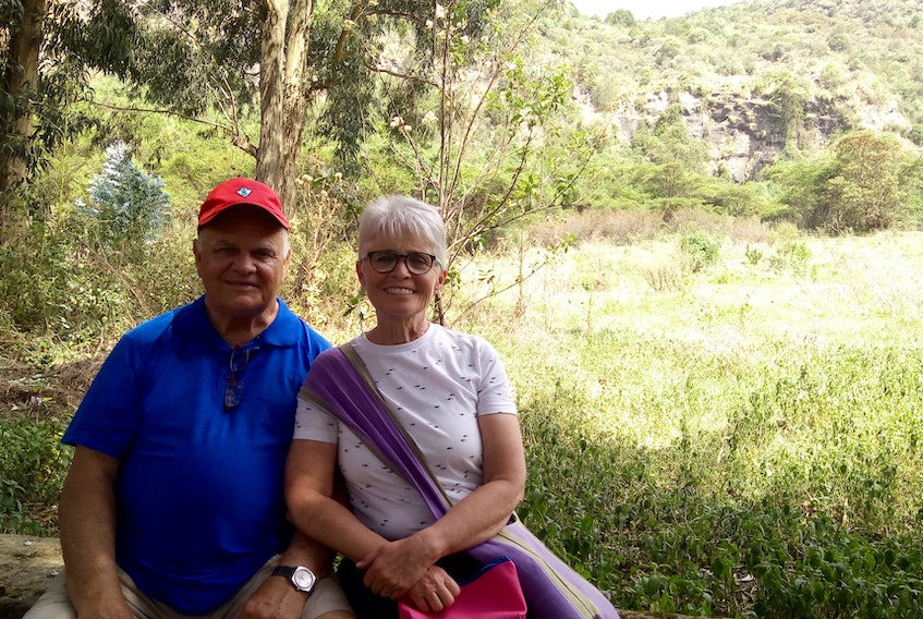 Jim and Marion Harris made their most recent visit to Ethiopia in May. They're helping run the East to East fundraiser in the Souris area on Aug. 17 to help build a day care in the village of Korah.