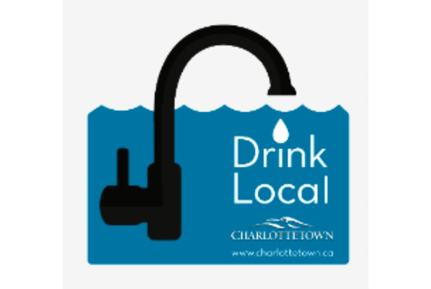 Charlottetown has started a campaign to promote the city's clean, safe drinking water.