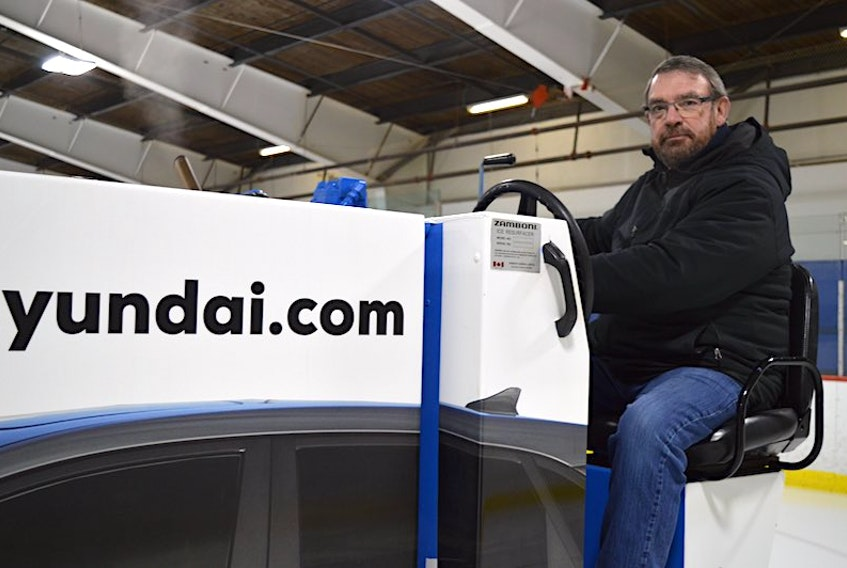 Joe Deighan, the assistant ice maker at Simmons Sport Centre, may be clearing ice in a new facility in another year. The City of Charlottetown is expected to unveil its list of major capital projects today, which is expected to include a replacement rink for Simmons.