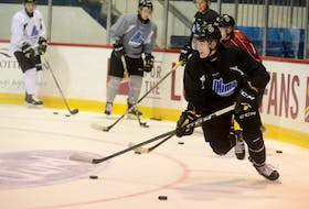 Oscar Plandowski is looking forward to his first home game at the Eastlink Centre tonight when the Charlottetown Islanders host the Saint John Sea Dogs at 7 p.m.