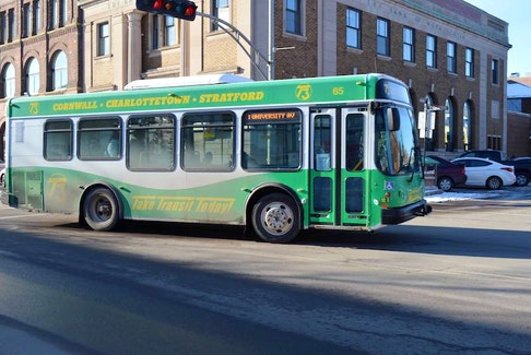 Mike Cassidy, who operates the T3 Transit system for Charlottetown, Cornwall and Stratford, said ridership was down 38 per cent in 2020 due to the COVID-19 pandemic.