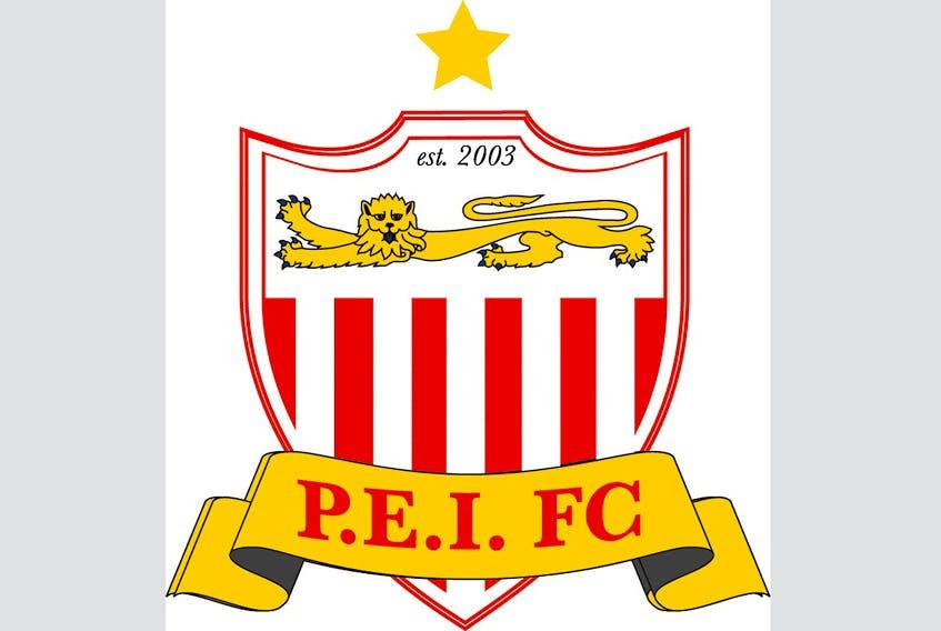 P.E.I. F.C. logo.