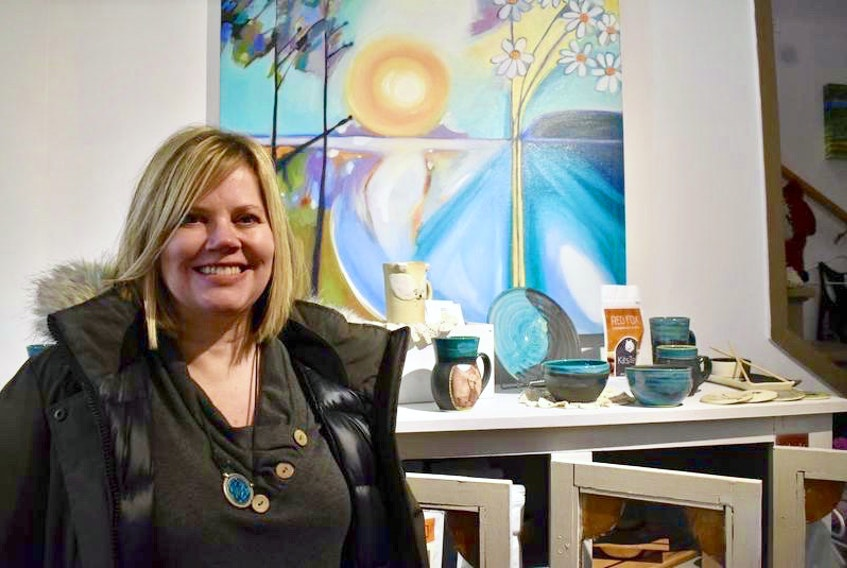 Crystal Stevens has opened The Den shop and workspace in North Bedeque.