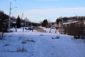 A plot of land at the end of Colin Avenue in Summerside has sat empty for nearly 30 years, but a developer is now interested in building a number of semi-detached homes there.