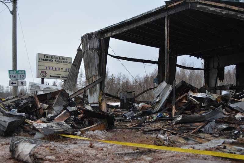 The Tyne Valley Community Sports Centre was destroyed by a fire on Dec. 29, 2019. Construction for a new complex is now underway. - SaltWire Network file