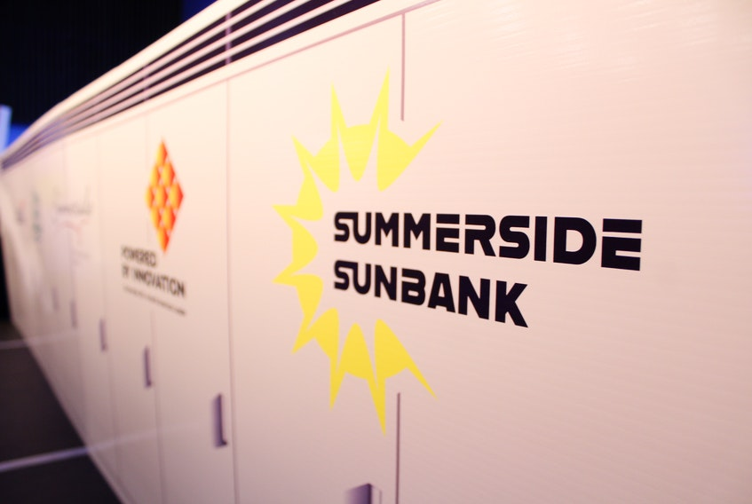 The Summerside Sunbank is the new branding for the city's new solar power farm and battery.