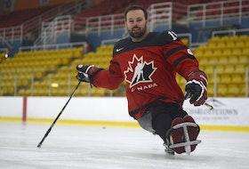 Billy Bridges is a veteran with Canada's sledge hockey team.