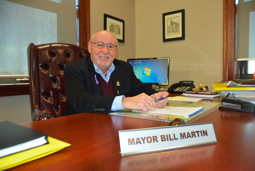 Summerside Mayor Bill Martin is reaffirming his decision not to run again in the 2018 municipal elections. Martin said made the decision so he can focus more time on his family's business and his own interests.
