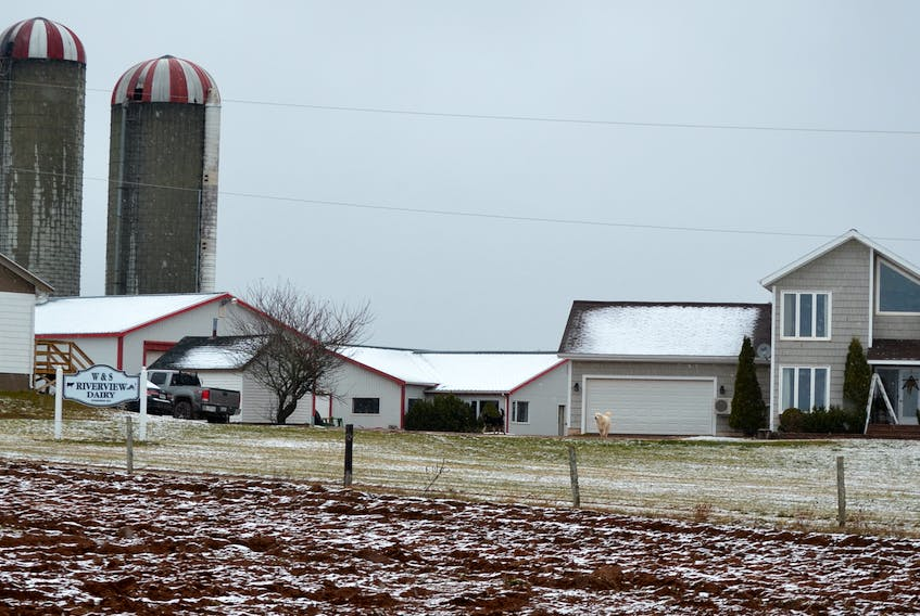 Riverview Dairy lost its pole barn but saved the herd in a Sunday morning fire in Foxley River.  The owner and farmhand got the cattle out safely after they noticed the glow from the fire from their respective houses at 4:30 a.m.