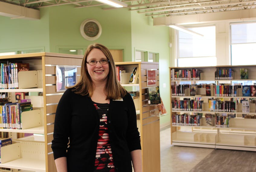 Rebecca Boulter, the regional librarian for the Prince County area, has seen the Inspire Learning Centre prosper in its first year with its collection growing in volume, a larger space and more community groups joining the fold.