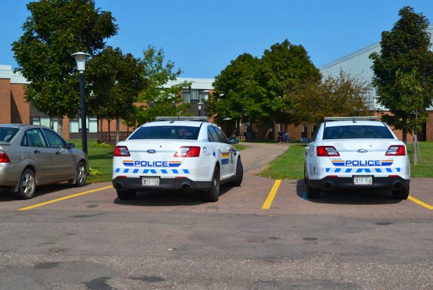 RCMP rushed to Westisle Composite High School at noon on Friday after receiving a report of a potenital threat involving a firearm. A lockdown was imposed but was subsequently lifted after the school, including lockers, was checked and deemed safe. Although afternoon classes were scheduled to resume, many students left the building with their parents.