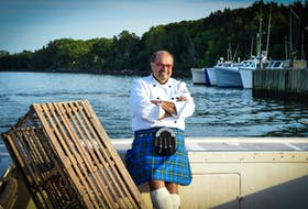 Chef Alain Bossé, aka, The Kilted Chef, will be the special guest during Fall Flavours' Clammin' and Jammin' Sept. 22 at Village musical Acadien.