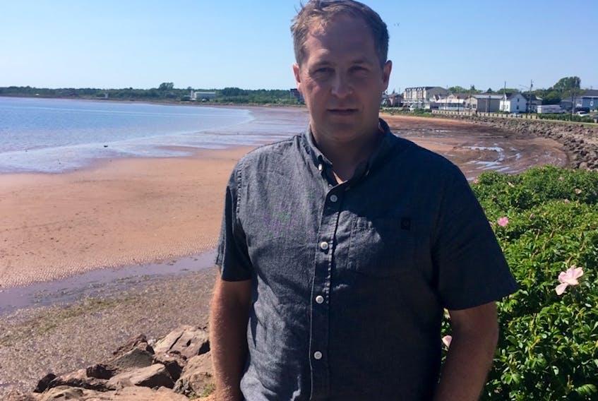 Cory Snow is seeking a council seat in Summerside's Ward 4, Clifton-Market.