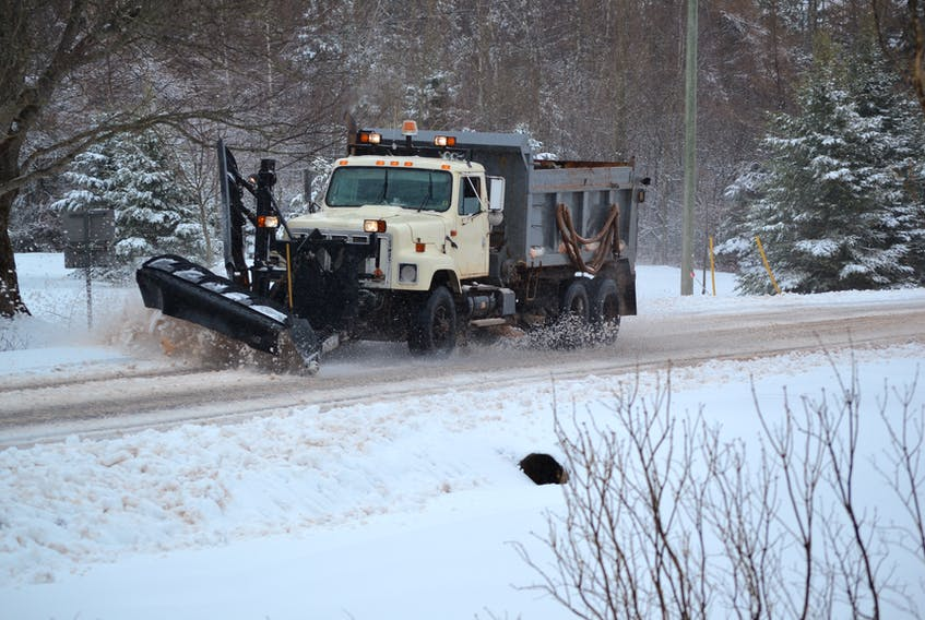 After a four-week rest period, snowplows were back on the roads in western P.E.I. on Wednesday afternoon. The day's forecasted snow and rain event came down as snow before finally shifting over to rain shortly after 2 p.m. in areas west of Richmond. It shifted back to snow and freezing temperatures in the evening. The forecast was serious enough to prompt the P.E.I. Public School s Branch to dismiss classes in the Westisle Family of Schools three hours early Wednesday, and driving conditions quickly deteriorated over the noon hour.