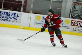 Charlie DesRoches played the 2016-17 season with the Kensington Monaghan Farms Wild of the New Brunswick/P.E.I. Major Midget Hockey League.