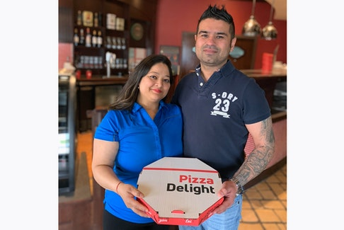 Gaurav Nayyar and wife Nidhi, owners of Pizza Delight in Sackville, N.B., are offering free meals to those in need as the COVID-19 pandemic continues to impact people.