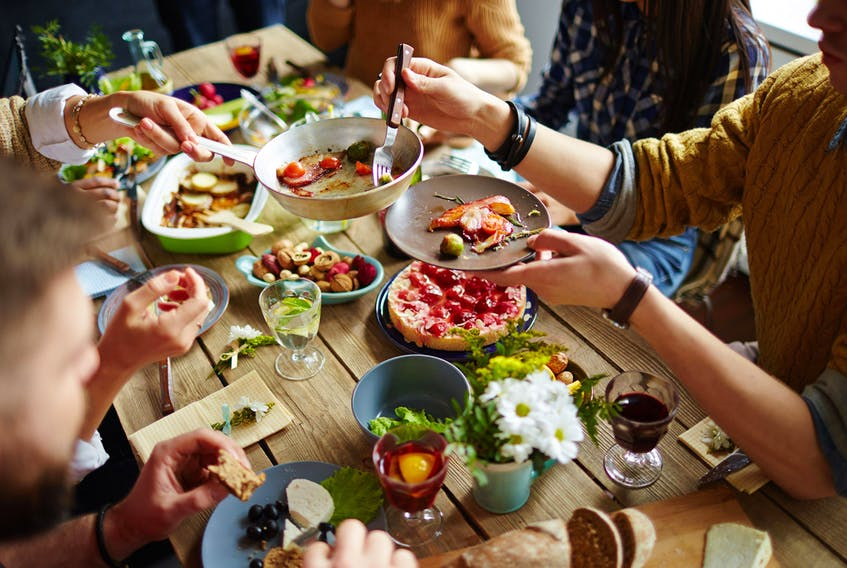 Aside from physically nourishing bodies, what's most important about food is the way it brings people together. Preparing food for people is an expression of caring. SUBMITTED PHOTO