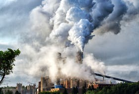 The Northern Pulp mill in Abercrombie spews pollution into the atmosphere. It is now closed. - Gerry Ferrel