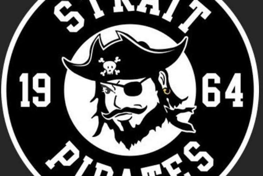 Strait Pirates logo.