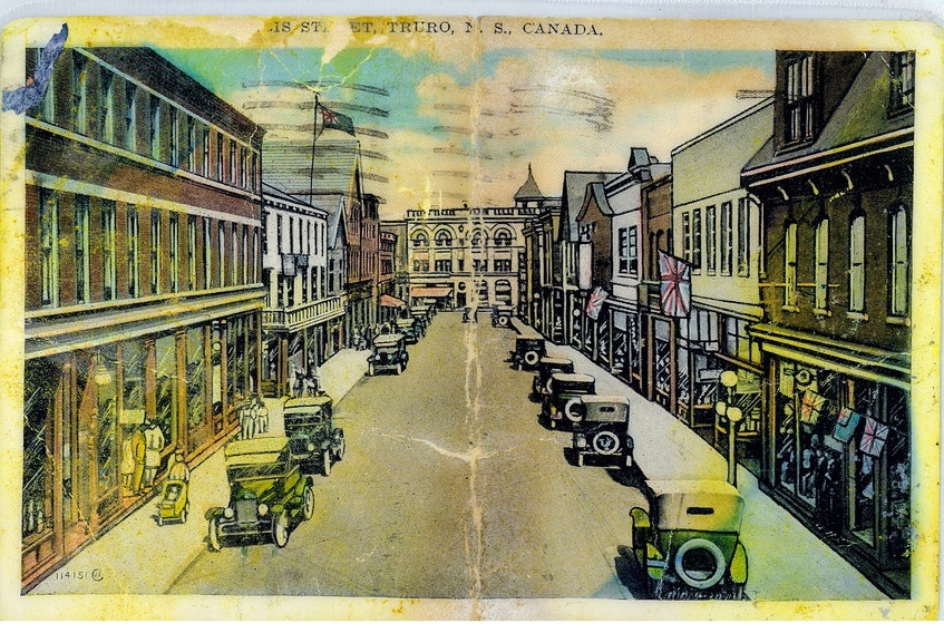 Kurstynn Abbott bought this postcard, which was mailed from Truro in 1929, in Newfoundland a few years ago. She'd like to pass it on to a family member of the sender