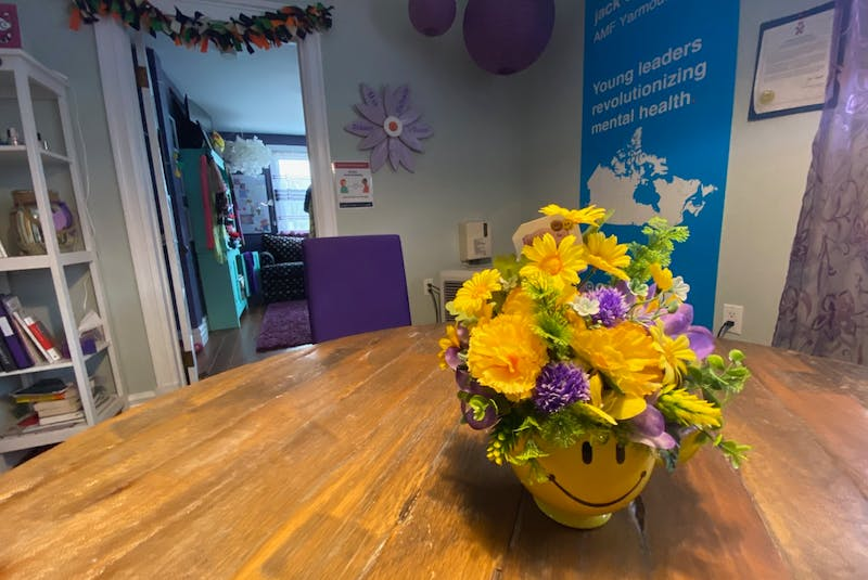 The Aidaen's Place Youth Wellness Center in Yarmouth. TINA COMEAU PHOTO