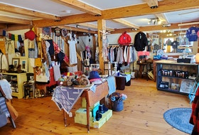 R&B Adventures store owner Beth Dunphy has lovingly curated a selection of top-quality outdoor apparel items at her Tatamagouche store.