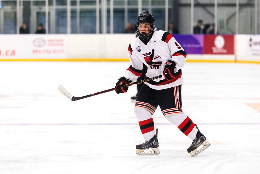 Defenceman Matthew Hunter is one of two territorial picks the Amherst CIBC Wood Gundy Ramblers are making in Saturday's MHL draft in Edmundston, N.B. The other is forward Jacob Melanson, who was selected 15th overall by the Quebec Remparts in the QMJHL entry draft.