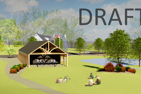 The Town of Wolfville released several draft designs of what a new Visitor Information Centre could potentially look like.